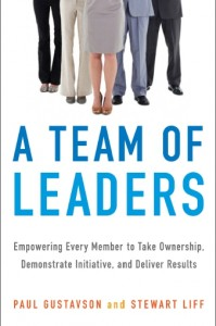 A Team of Leaders Book Cover